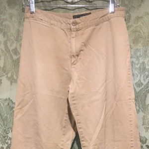 Abercrombie & Fitch Flare-leg Khaki Trousers, 6